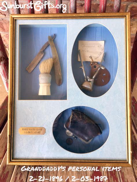 framed sentimental keepsakes thoughtful gifts sunburst