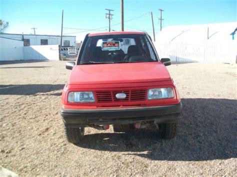 1994 chevy tracker purchase used nice 1994 geo tracker 4x4 in lemitar new