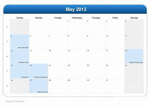 Calendar For 2013 By Month | Search Results | Calendar 2015