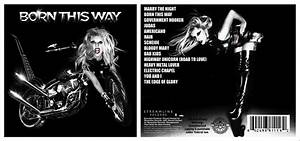 simon sez-CD: NEW BACK COVER : lady gaga - born this way ...