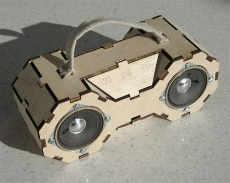 plywood boombox    tie fighter