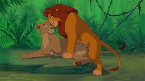 rule 34 disney feline female feral lion male nala nuzzling on side penis pussy reallynxgirl