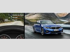What is the HeadUp Display in the 2019 BMW 3 Series?