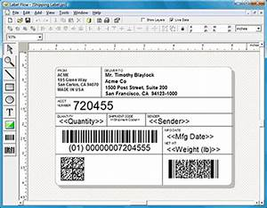 label flow barcode labeling software shareware version 60 With fake shipping label generator