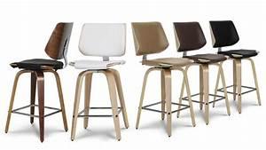 Tabouret Haut Scandinave : tabouret de cuisine design hambourg mobilier moss ~ Teatrodelosmanantiales.com Idées de Décoration