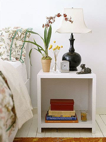 bedside tables     match  style