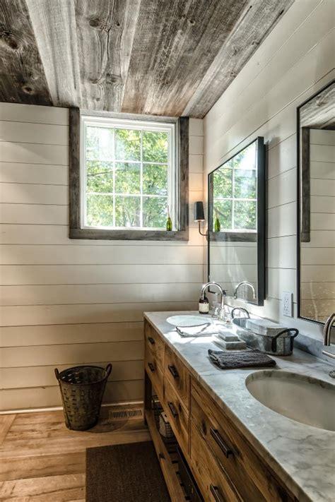 rustic style bathroom  reclaimed wood hgtv