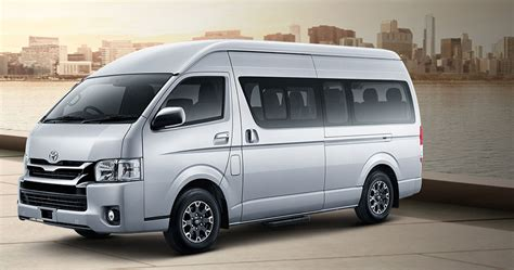Toyota Hiace 4k Wallpapers by Toyota Hiace Indonesia Microbus Mewah Commuter Manual