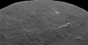NASA's Dawn spacecraft spots pyramid-shaped structure on Ceres