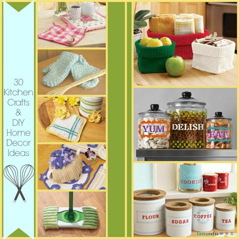 kitchen projects ideas 30 kitchen crafts and diy home decor ideas favecrafts com
