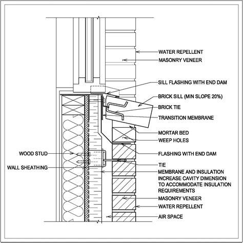 Window Sill Section by Bildresultat F 246 R Brick Window Sill Detail Konstruktion