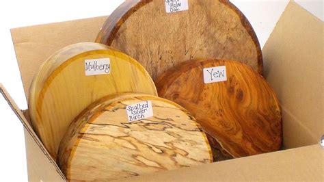 4 Premium woodturning bowl blanks