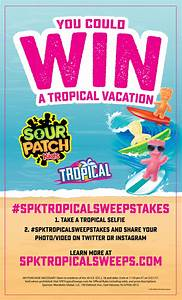Sour Patch Kids Tropical Sweepstakes - Confessions of a ...