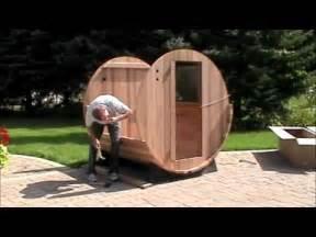 Barrel Sauna Plans