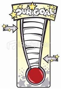 fundraiser thermometer | stock-illustration-9338506-goal ...