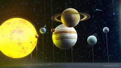 Solar System Planets Wallpapers 3d Cartoon Aliens