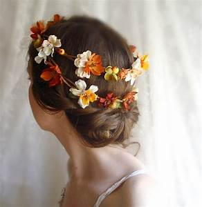 Autumn Wedding Colors Brown Orange Wedding Colors