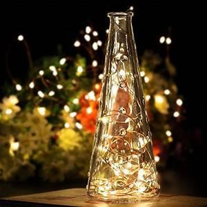 Weihnachtsbeleuchtung Mit Batterie Und Timer : 2 st ck 60er micro led lichterkette draht batterie betrieben kupferdraht lichterketten mit timer ~ Orissabook.com Haus und Dekorationen