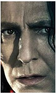 Deathly Hallows Part 2 Character Poster: Severus Snape ...