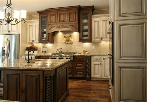 Tile Countertop Ideas Kitchen - french country modern kitchen charlotte by walker woodworking