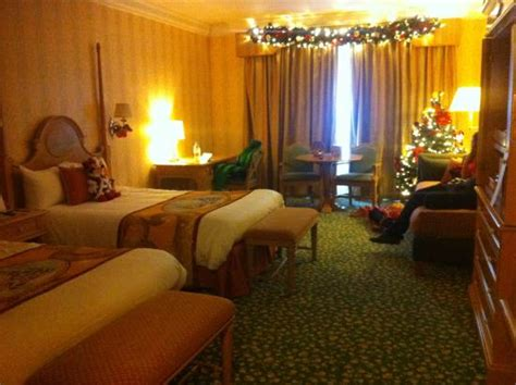 decorate hotel room lovely little christmas tree in the room picture of disneyland hotel chessy tripadvisor