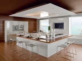 cuisine avec îlot central nos inspirations travaux com