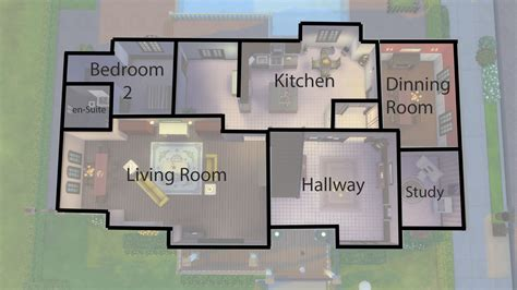 Spare Bedroom Ideas - mod the sims 4 grove 4 bedroom family home