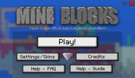 blocks  minecraft block mining game