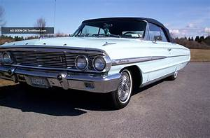 1964 500 Convertible Ford Galaxy