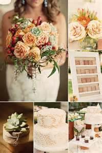wedding color palette 9 gorgeous wedding color palettes for autumn