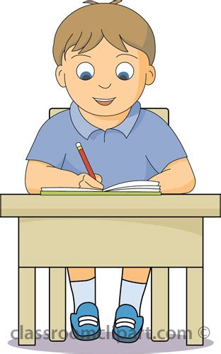 students working independently clipart alone clipart independent person pencil and in color