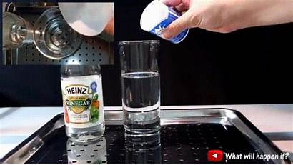 Soda Vinegar Baking Giphy Reaction Satisfying Bleach
