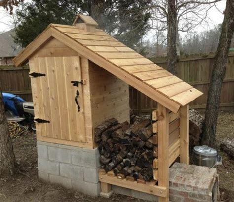 awesome diy smokehouse plans   build   backyard