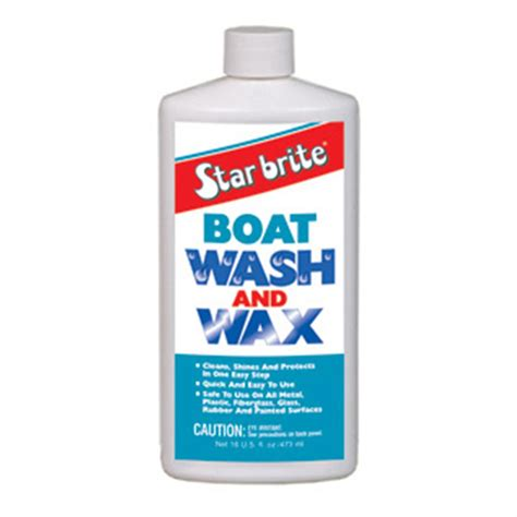 International Boat Wax by Starbrite Boat Wash Wax 177560 Cleaning Supplies At