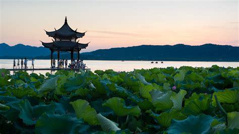 hangzhou city  zhejiang thousand wonders