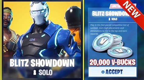 Fortnite Blitz Solo | Free V Bucks Xbox One 2018