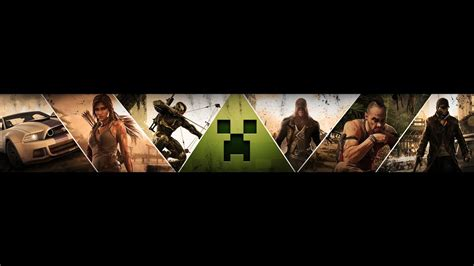 youtube gaming banner speed art gamingrecipe youtube