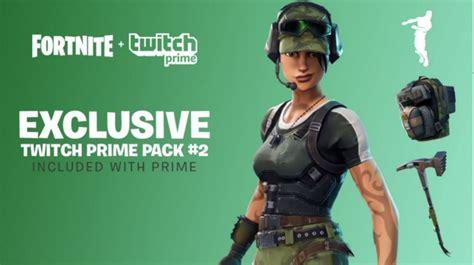 fortnite twitch prime pack   skins