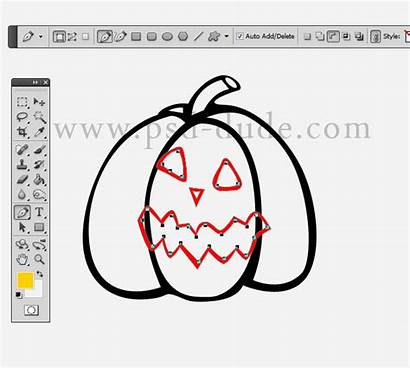 Photoshop Neon Halloween Pumpkin Layer Result Something