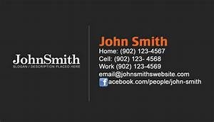 Personal business cards personal cards design and for Personal business card examples