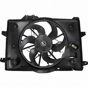 2000 Mercury Grand Marquis Cooling Fan Assembly