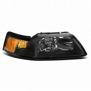 For 1999 to 2004 Ford Mustang 1PC Factory Style Headlight Headlamp Assembly Right / Passenger ...