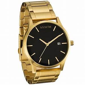Rolex Uhr Herren Gold : mvmt mm01bg black gold herrenuhr mens watches uhren gold uhren herren edelstahl armband ~ Frokenaadalensverden.com Haus und Dekorationen