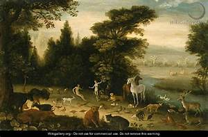 The Garden of Eden - Jacob Bouttats - WikiGallery.org, the ...