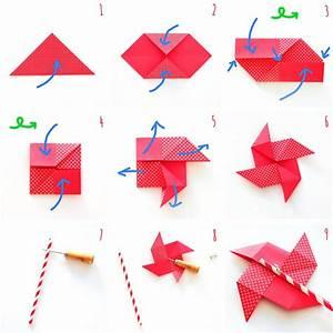 Windrad Selber Bauen Anleitung : s es origami windrad schnell und einfach selbermachen trytrytry ~ Orissabook.com Haus und Dekorationen