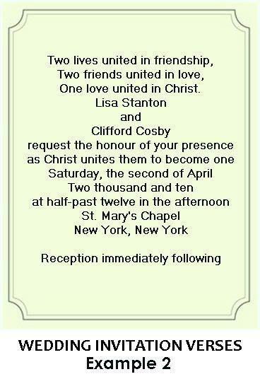 christian wedding ideas invitation wording