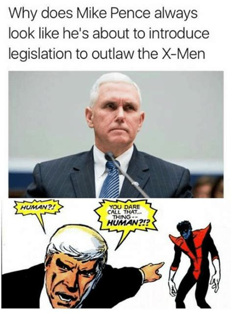 Mike Pence Memes - funny x men memes of 2017 on sizzle apparently