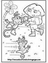 Dora Coloring Printable Tip Tutorial sketch template