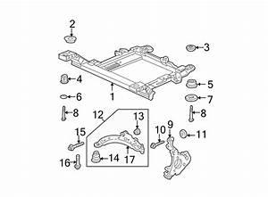 Oldsmobile Intrigue Suspension Control Arm Bolt  1997
