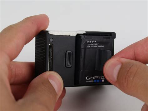 gopro hero silver battery replacement ifixit repair guide